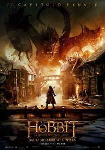 Hobbit Battle of Five Armies Maxi Poster 61cm x 91.5cm new and sealed Kneel
