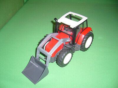 FERME petites casses PLAYMOBIL T41c03 Tracteur Rouge 4496
