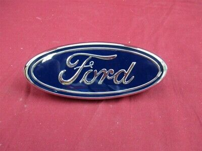 NOS OEM Ford Taurus Graphite Gray Rear Bumper Name plate Emblem 1996-97