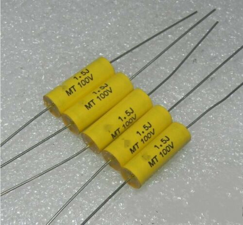 100V1.5UF 155J Polyester film Capacitors Treble frequency divider capacitor