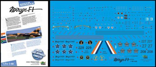 "FFSMC Productions SAAF 1//48 /""SAAF Mirage F1AZ und F1CZ/"""