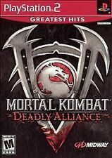 Mortal Kombat: Deadly Alliance (Playstation 2) Pro Re-Conditioned Disc Only