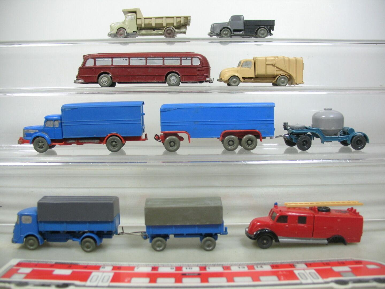 Ae703-1 Wiking H0 Colección de Artesano Colgante Camiones Pullman Bus