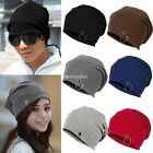 New Unisex Women Men Winter Ski Hat Slouch Baggy Hip Hop Knit Crochet Cap Beanie