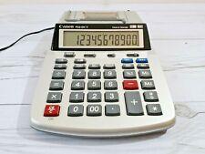 Canon Calculator P23 Dh V Clock Amp Calendar Printing 12 Digit Calculator Used