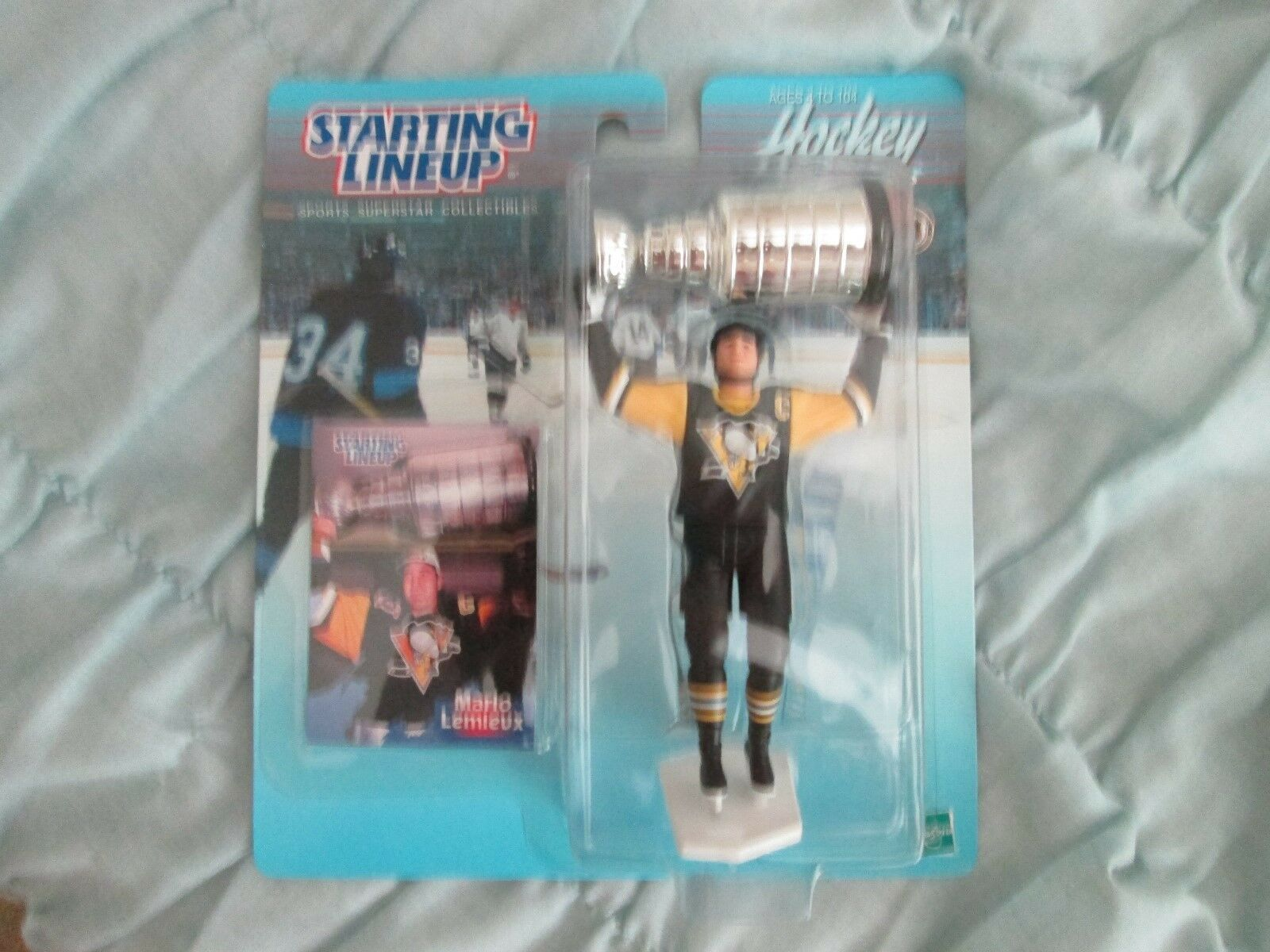 1999 Starting Lineup NHL Sports Superstar Collection Mario Lemieux NIP