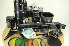 GREAT PHOTOSNIPER FS-12 Russian SLR 35mm Camera ZENIT-12ES / TAIR-3FS, HELIOS 44