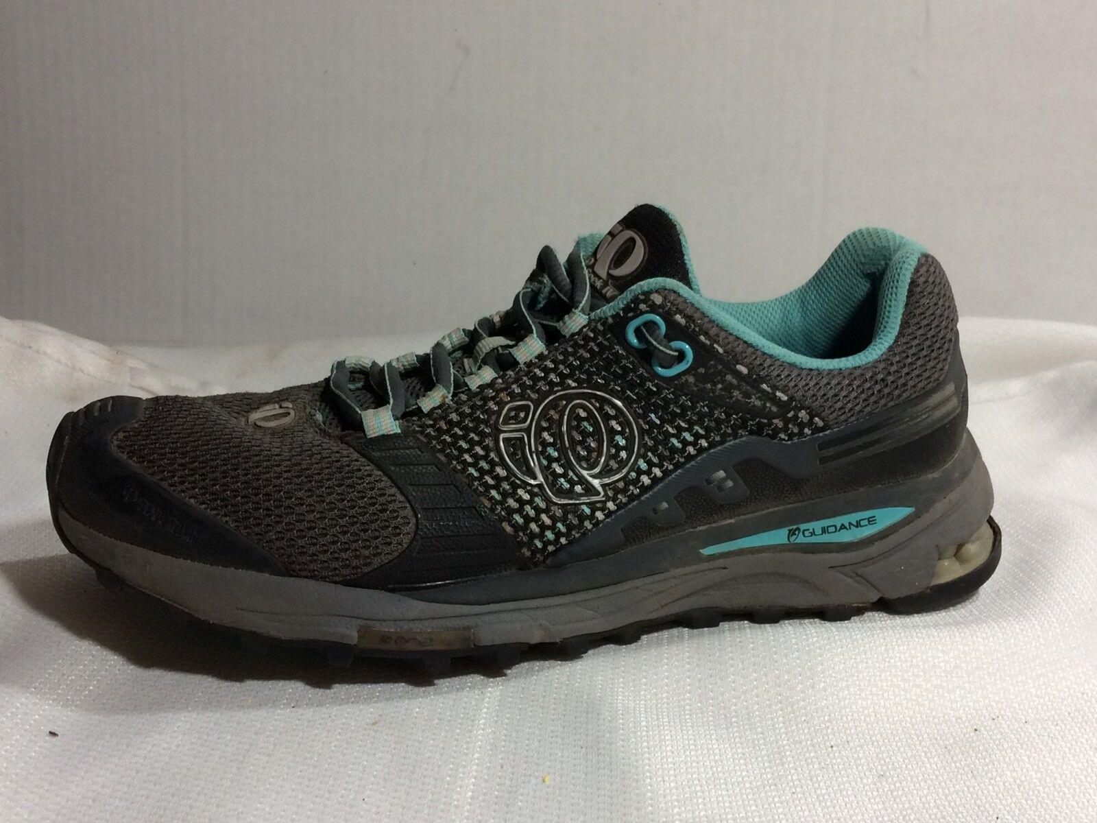 pearl izumi Gris  Bleu  iso chercher iv iv iv femmes 7,5 m de course en sentier chaussure résistant à l'eau e23e6a
