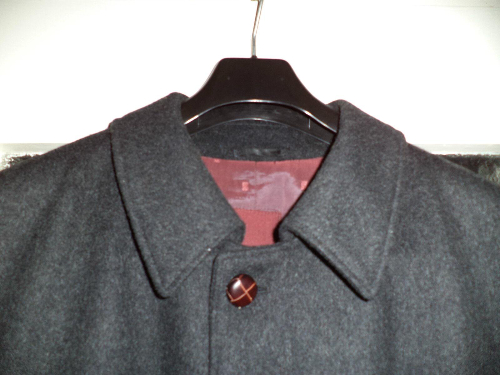 Mantel von Jupiter, Gr.25, antrazhit, 75% Wolle