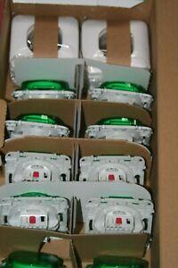 Lot de 10 Interrupteurs Va et vient 10A + plaque Schneider Ovalis blanc S260204