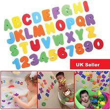 HILLINGTON ® 36pc Eva Foam Bath Letters Numbers Baby Activity Entertainment Bath