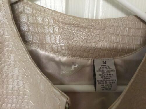 en Zip Veste cuir le en Phosphorus Mcon18 manches devant à sur tricot SGVqUpzM
