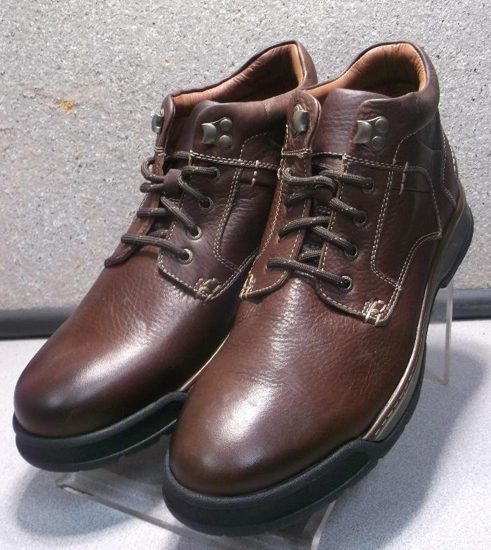 202563 pfbt 40 para hombres zapatos M Marrón Cuero botas Johnston & Murphy