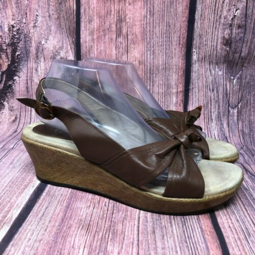 Dansko Madalyn Toggle Women's Brown Leather Slingb