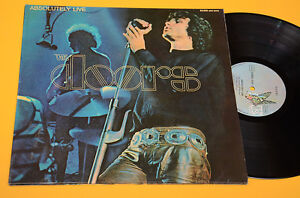 DOORS-2LP-ABSOLUTELY-LIVE-GERMANY-1973-NM-MAI-SUONATI-GATEFOLD-LAMINATED-COVER