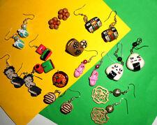 Lotto Stock fimo anello orecchini Betty Boop onigiri ballerine fiore idea regalo