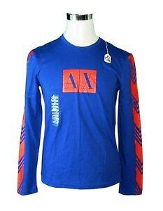 Armani Kleding.Heren Kleding A X Armani Exchange Men S T Shirt Blue Size M 100