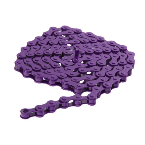 "1//2/"" x 1//8/"" BMX Bicycle Chain Fixie Fixed Single Speed Bike Purple 96 Links"