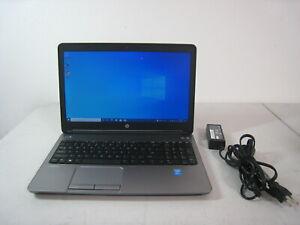 HP ProBook 650 i5 4GB RAM 500GB HDD Windows 10 Pro Laptop free U.S. ship