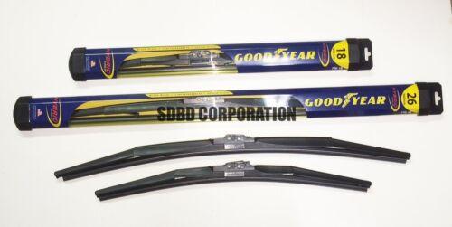 2013-2014 Dodge Dart Goodyear Hybrid Style Wiper Blade Set of 2