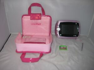 Leap Frog Leap Pad Pink Case Fashion Handbag Carry Bag with Leap Pad ... 980556a9fb0a7