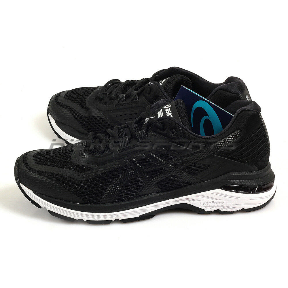 Asics GT-2000 6 Black/White/Carbon Sportstyle Running Shoes 2018 T805N-9001