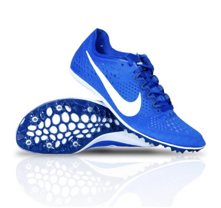 NEW Men's 13 Nike Zoom Victory 3 Track & Field Running Spikes bluee 835997-411