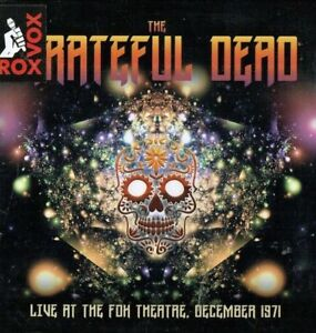GRATEFUL-DEAD-Live-at-the-Fox-Theater-December-1971-3CD-box-set-New-amp-sealed