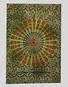Large-Indian-Peacock-Mandala-Tapestry-Hippie-Wall-Hanging-Beach-Throw-Dorm-Decor