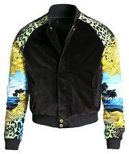 Men's Versace x H&M Velvet Bomber Jacket Size Large L Yeezy Kanye West Rare