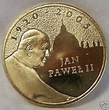 POLAND POPE JOHN PAUL II 1920 - 2005 / ST PETERS COIN uncirculated