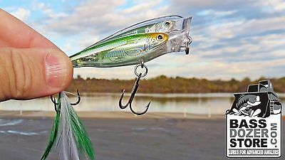 Koppers Live Target BAITBALL Glass Minnow. Topwater Popper