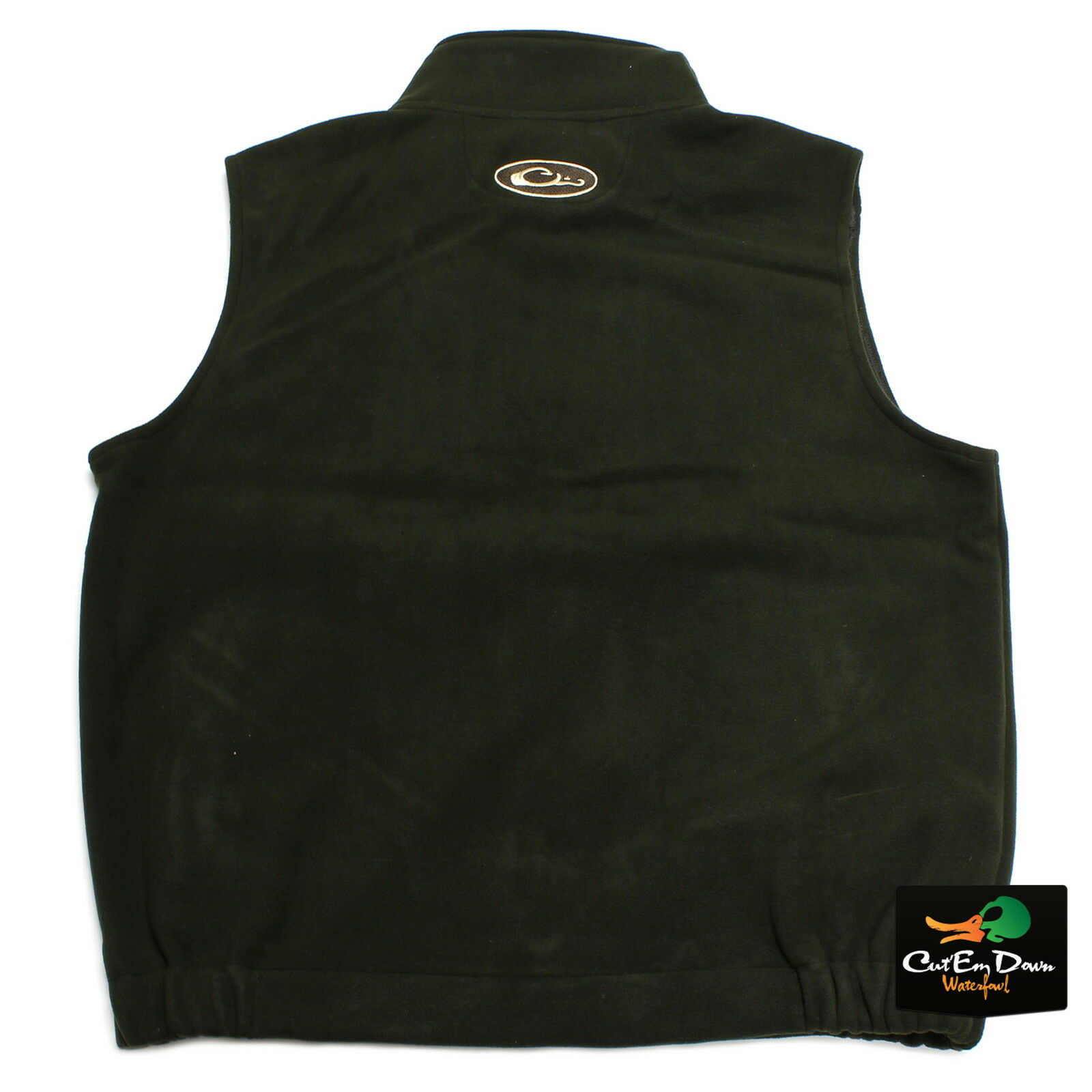 DRAKE WATERFOWL MST WINDPROOF LAYERING FLEECE VEST VEST VEST OLIVE MOSS Grün MEDIUM ccbf3e