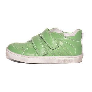 a35980065e55 Bo-bell Boys Clover Green Leather Shoes UK 7.5 EU 25 US 8 RRP £49