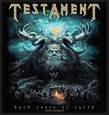 TESTAMENT - Dark Roots Of The Earth Patch Aufnäher 10x10cm