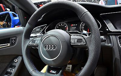 For Audi A6 S6 4G C7 2011-2018 steering wheel badge OE logo Lenkrad S-Line S