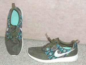 e2ba0cc06e7e Men s NIKE Roshe one print bamboo Iguana sail sneakers   shoes