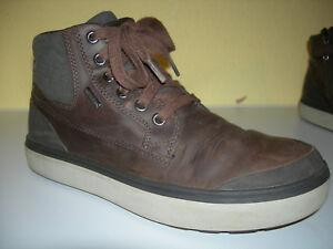 GEOX RESPIRA Damen Schuhe Stiefeletten Leder Schwarz Gr.39 f
