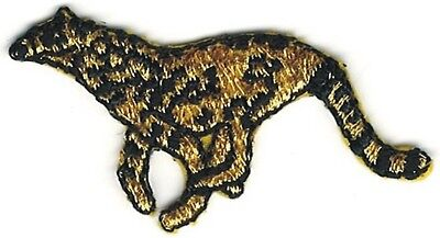 """7/"""" Safari Savannah Cheetah Embroidery Patch"""