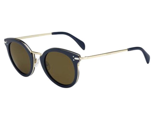 9dc2ed98327 Celine Sunglasses Mod CL 41373 s Hdeec 48mm Petrol Gold   Brown for ...