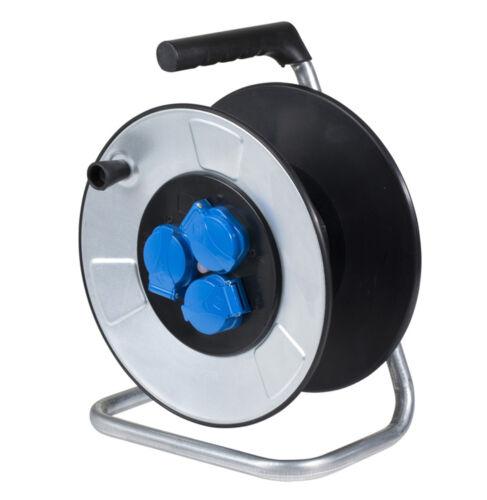 AS-Schwabe IronCoat Metall Leertrommel 285mm Durchmesser für 50 m Kabel Neu