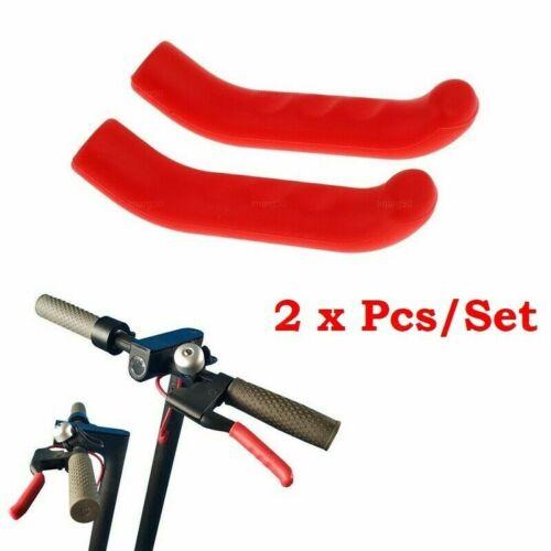 MTB Fahrrad Ständer Roter Silikonschutz für Xiaomi M365 Bremsgriff