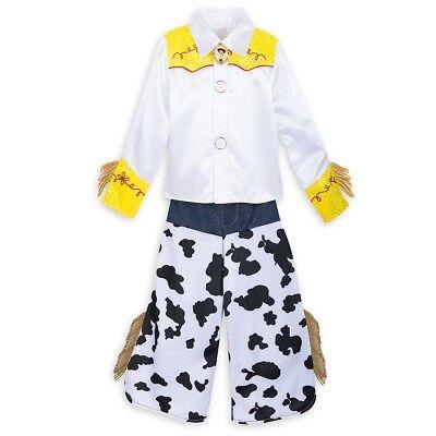 NWT Disney Store Toy Story Jessie Cowgirl Halloween Costume 5 6 7 8