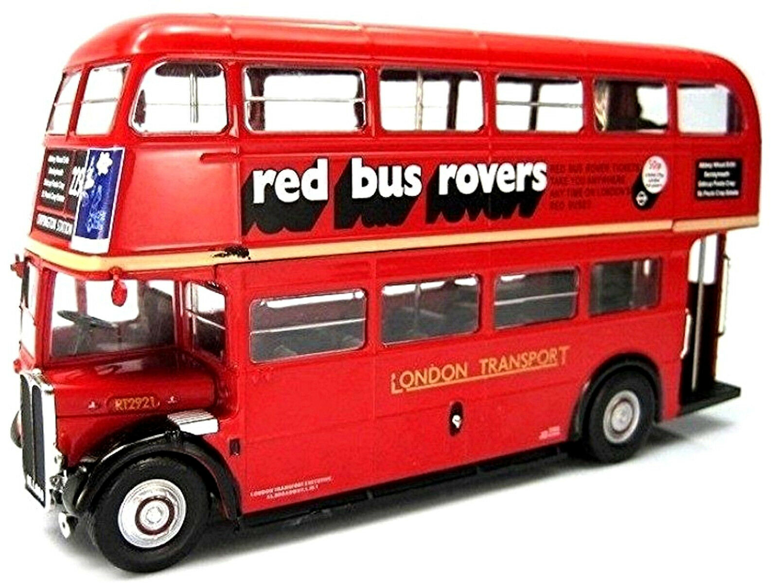 Äc Regent III Rt Royaume-Uni Londres Bus 1947-79 Rouge rouge 1 43 Ixo-Atlas