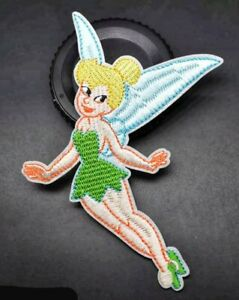 Patches Iron On Embroidered Patch D Tinkerbell Disney