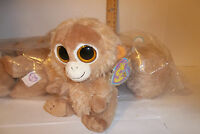Retired Ty Beanie Boos Tangerine The Monkey 6 2010 I Love Trouble Mint W Tags