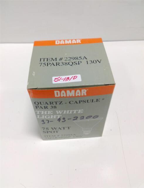 Damar Quartz Capsule Par 38 75w Spot Light 22985A