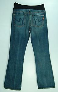 Faded FLARE Leg CITIZENS OF HUMANITY by Jerome Dahan MATERNITY Jeans! 28