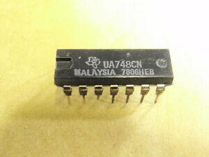 IC BAUSTEIN LM741 = UA741 14 Pin u.a DIP    16540-123