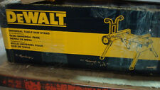 NO TAX! NEW DeWALT DW7440RS Heavy Duty Rolling Job Site Table Saw Stand Portable